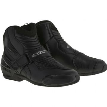 Alpinestars SMX-1 R Motorcycle Motorbike Shoe Boots Black US/UK 5 Euro 38